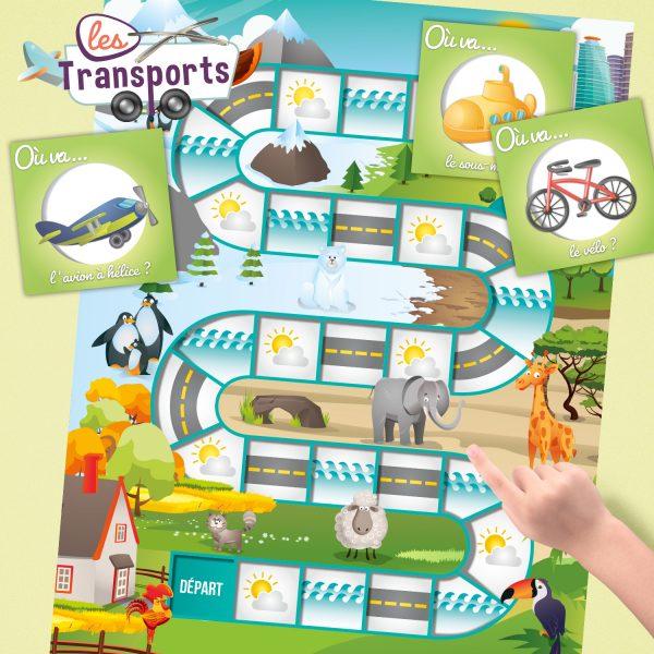 4e page pomme ou transports 600x600 - La compréhension de la question OÙ? – Les transports