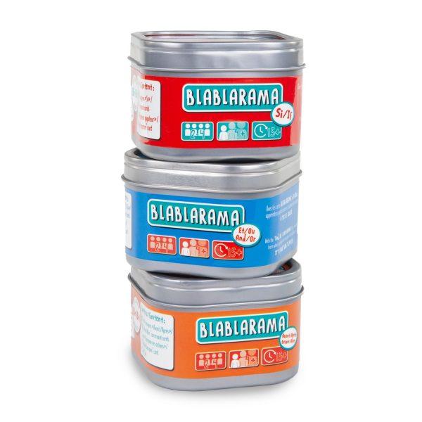 blablarama ensemble 2 600x600 - Blablarama - Ensemble de 3 jeux