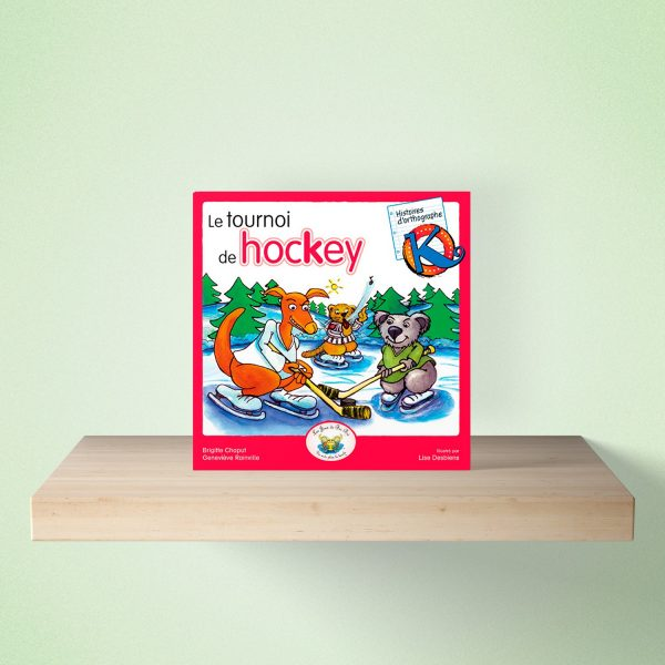 mock up livre hockey 600x600 - HISTOIRES d'orthographe - Le tournoi de hokey