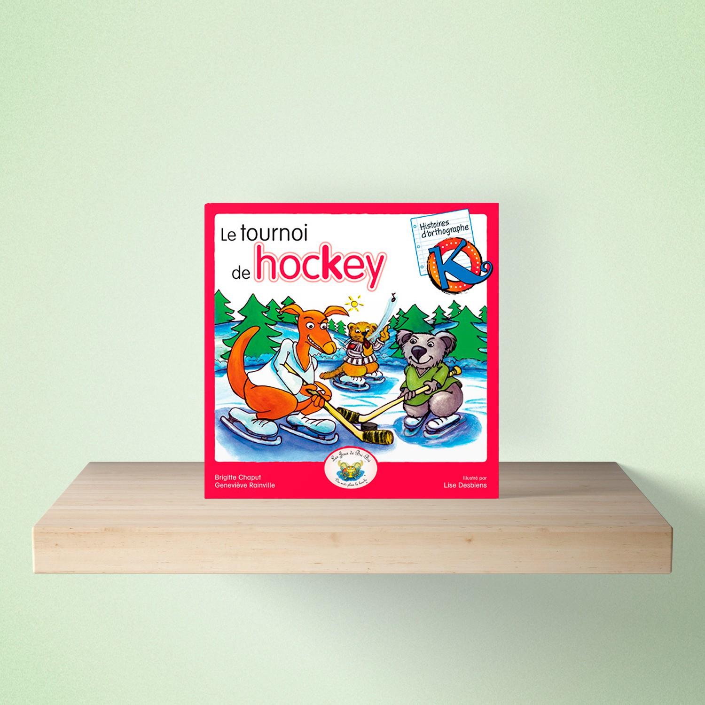 mock up livre hockey - HISTOIRES d'orthographe - Le tournoi de hokey