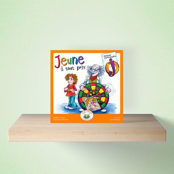 mock up livre jeune 600x600 - HISTOIRES d'orthographe - Jeune à tout prix