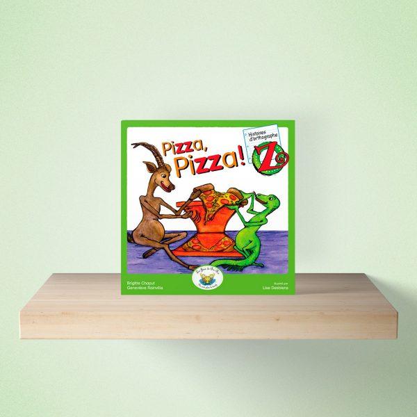 mock up livre pizza 600x600 - HISTOIRES d'orthographe - Pizza Pizza!